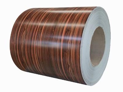 不锈钢覆膜木纹卷