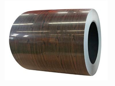 木纹覆膜镀锌卷