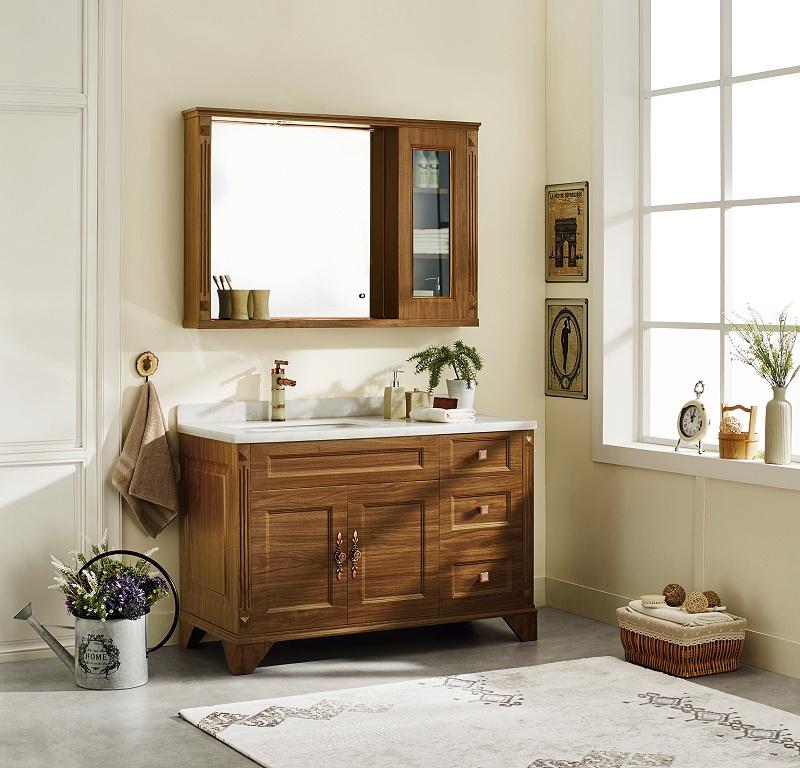 木纹覆膜卫浴应用-客户案例