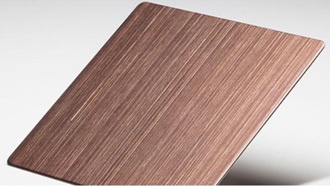 古铜拉丝不锈钢板-内敛的艺术家