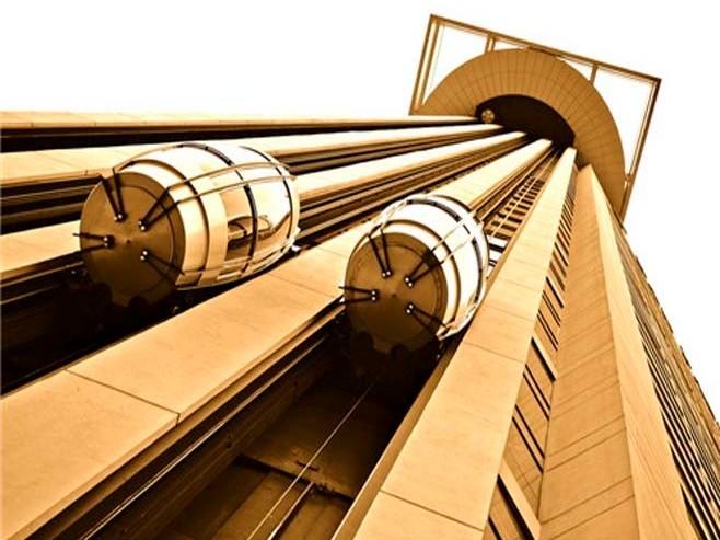 不锈钢钛金电梯板