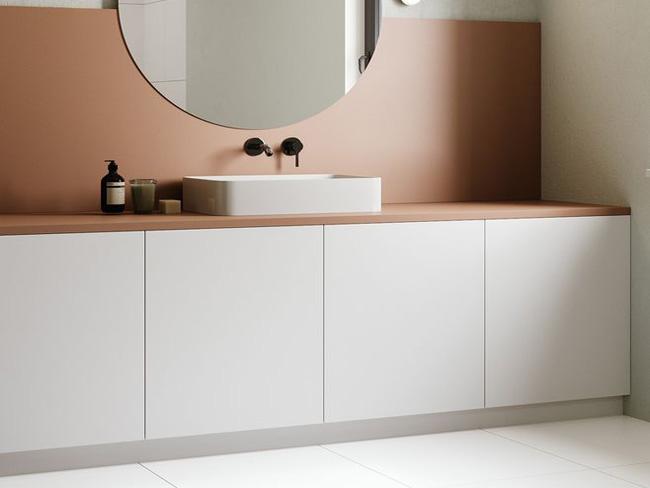 不锈钢纯色覆膜卫浴-客户案例