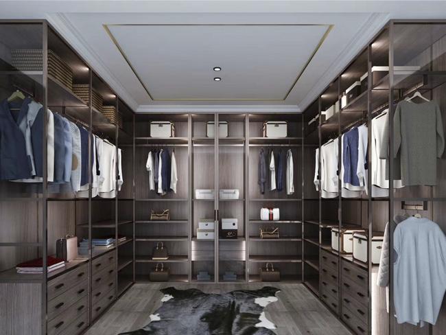 金属覆膜衣柜