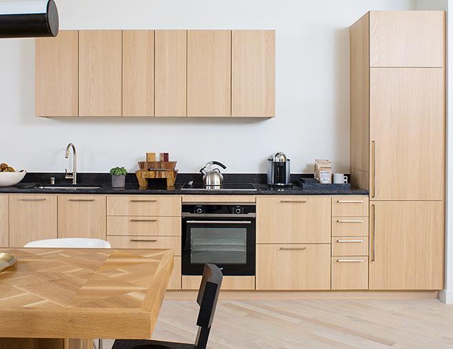 木纹覆膜厨柜客户案例