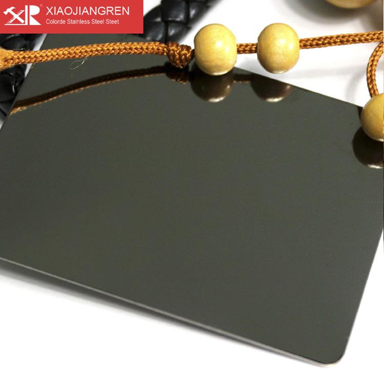 黑钛金镜面板