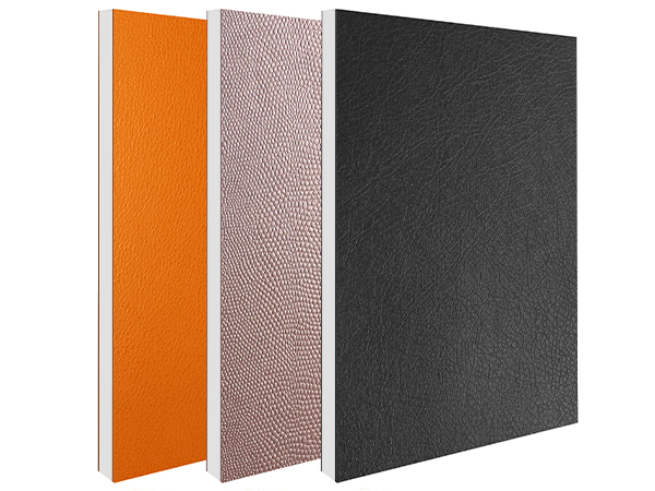 布/皮纹铝复合板