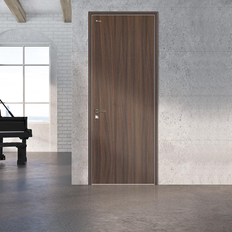 木纹钢板室内门-客户案例