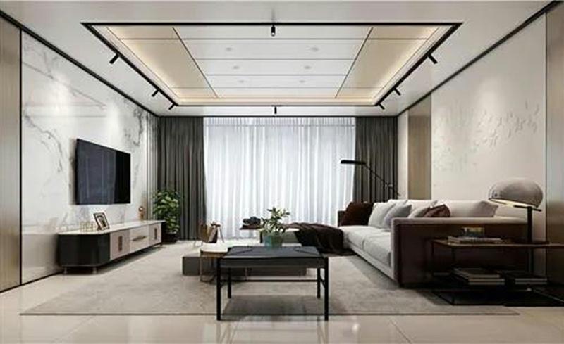金属复合板在家装客厅的应用案例