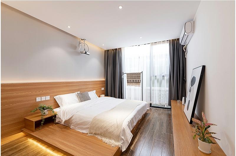 铝基科技板在酒店客房的使用案例