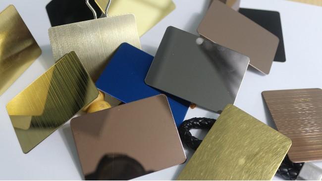 不锈钢拉丝钛金板如何清洗?