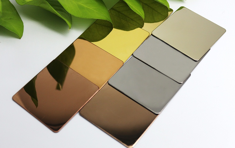 彩色不锈钢钛金板