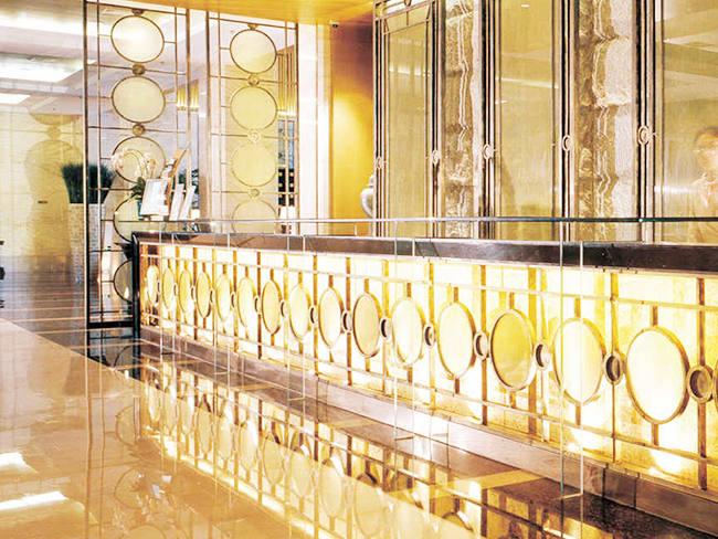 酒店大堂不锈钢装饰-客户案例
