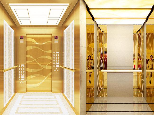 钛金电梯板