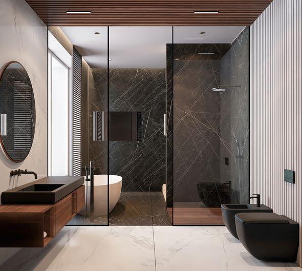 金属覆膜石纹幕墙客户应用案例
