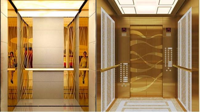 不锈钢板电梯装饰