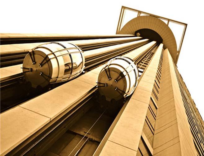 不锈钢装饰板电梯-客户案例