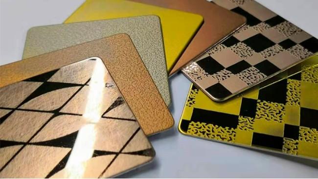 不锈钢钛金板