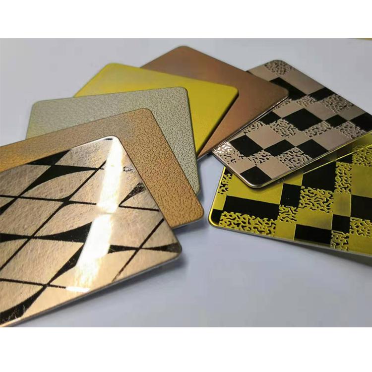钛金不锈钢板