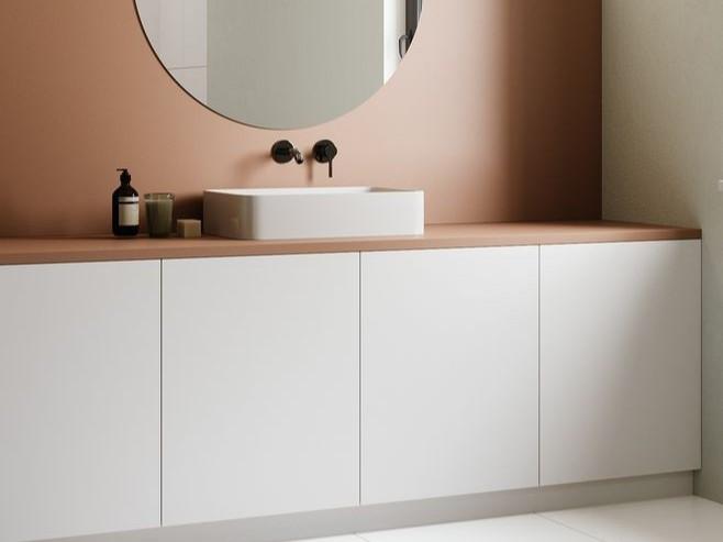 不锈钢浴室柜高光覆膜